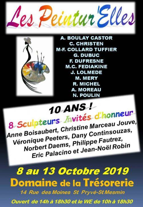 Affiche Peintur'Elles 2019