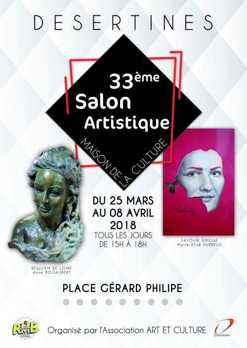 Affiche salon 2018